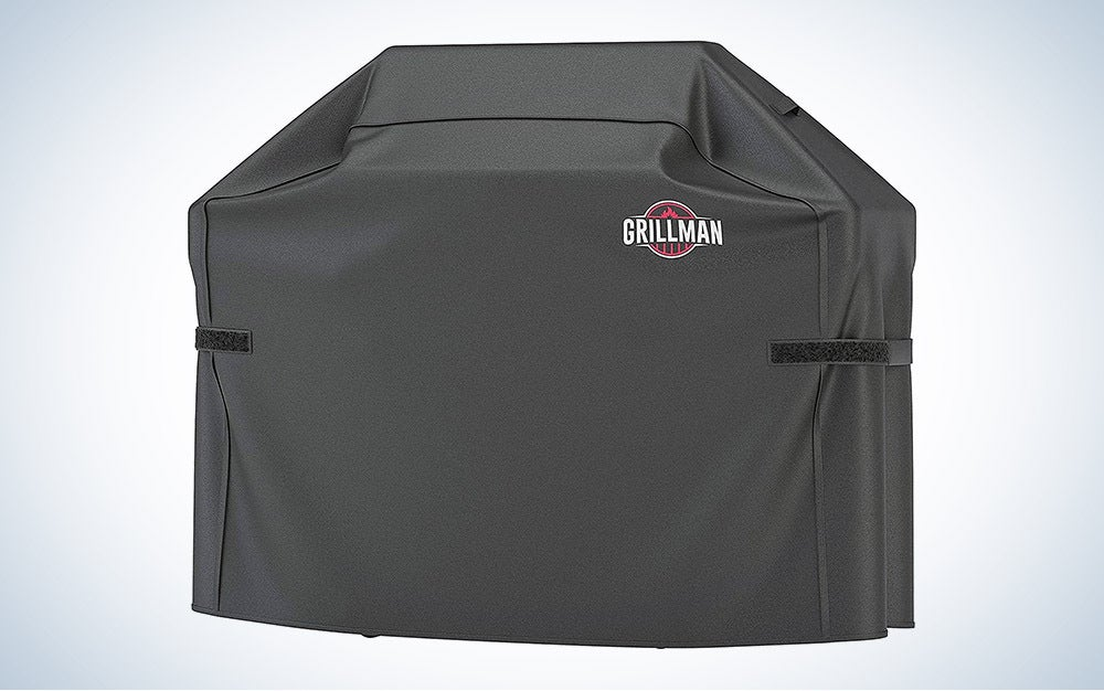 The Grillman Premium (58 Inch) BBQ Grill Cover is the best rip-proof.
