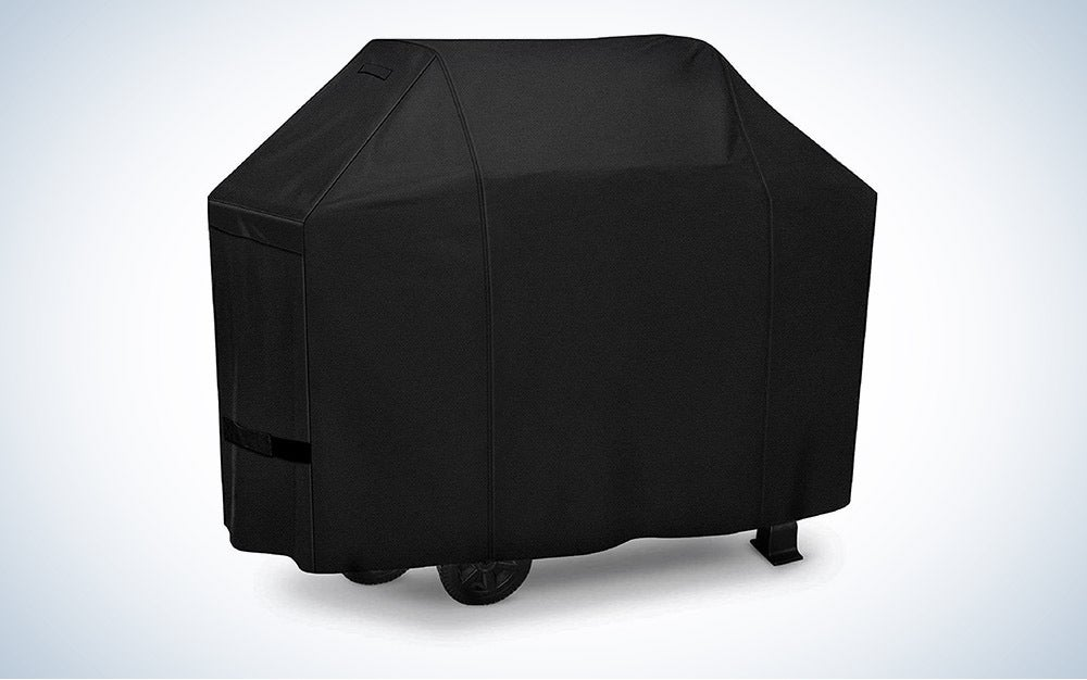 The iCOVER Grill Cover 50in, 600D Heavy Duty is the best heavy-duty.