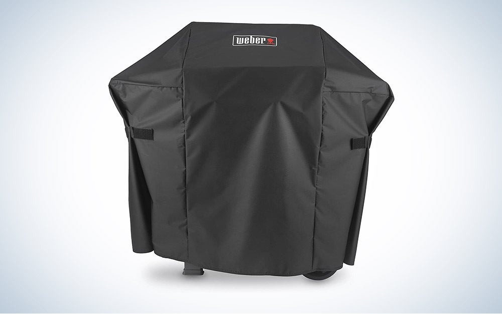 The Weber 7138 Premium Grill Cover is the best overall.