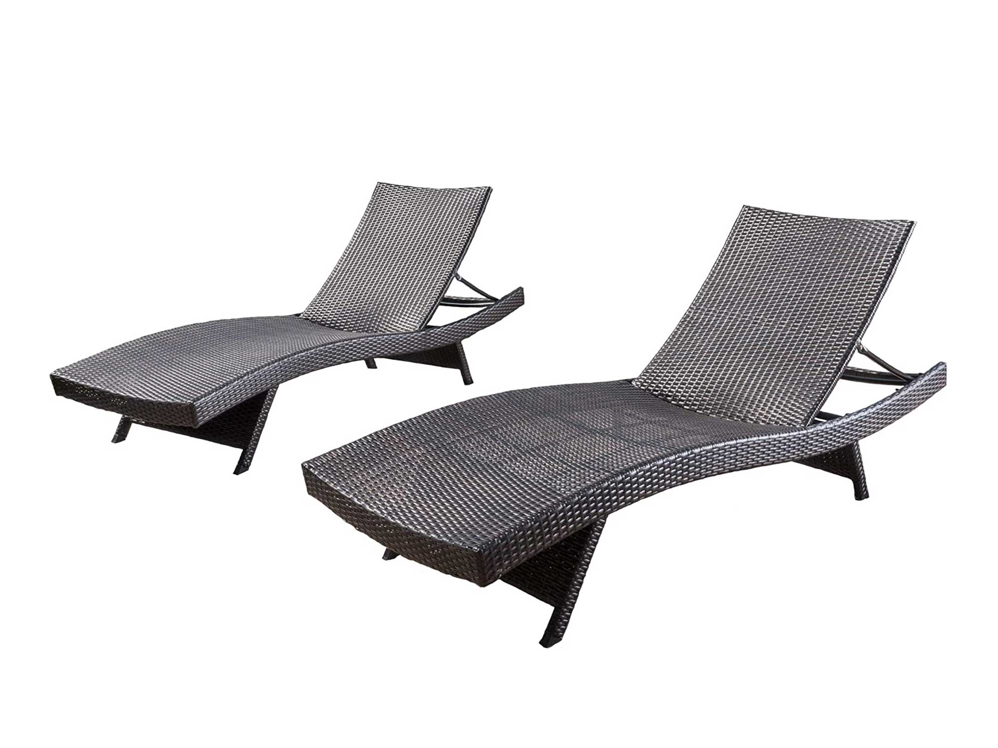Christopher Knight Home Lakeport Outdoor Adjustable Chaise Lounge Chair