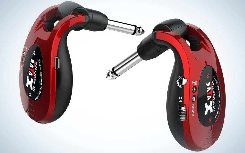 Xvive U2 Guitar Wireless System is the best wireless guitar cable.