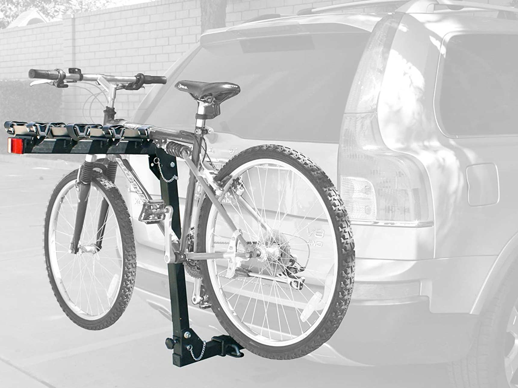MaxxHaul 4-Bike Deluxe Hitch Mount Rack
