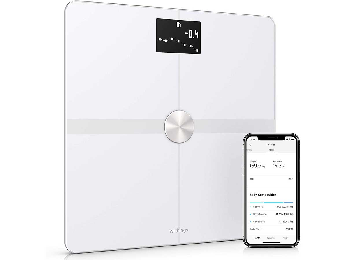 Withings / Nokia Body+ - Smart Body Composition Wi-Fi Digital Scale