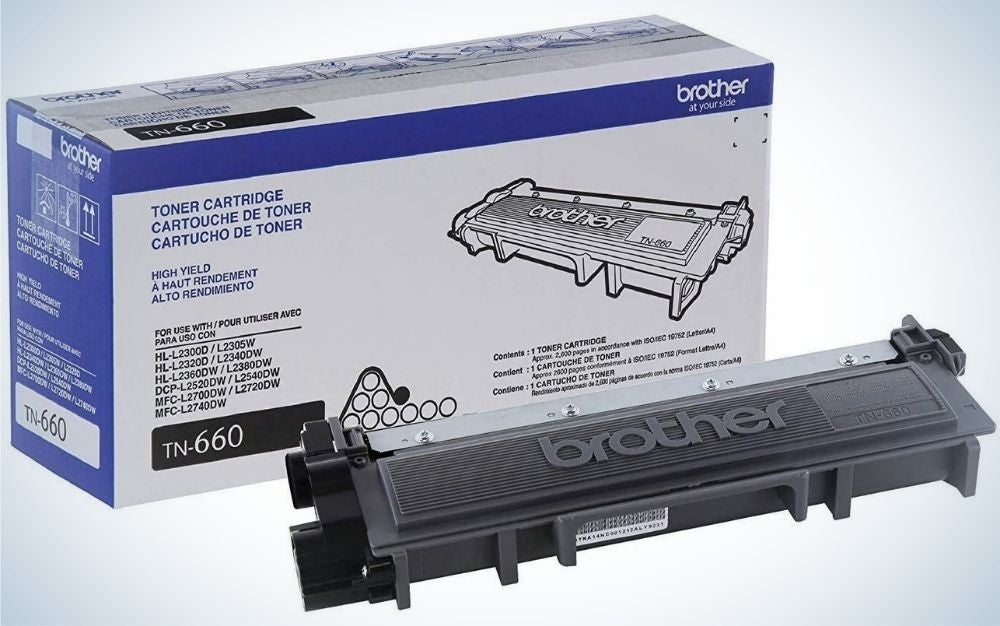 Brother Genuine High Yield Toner Cartridge is best page yield.