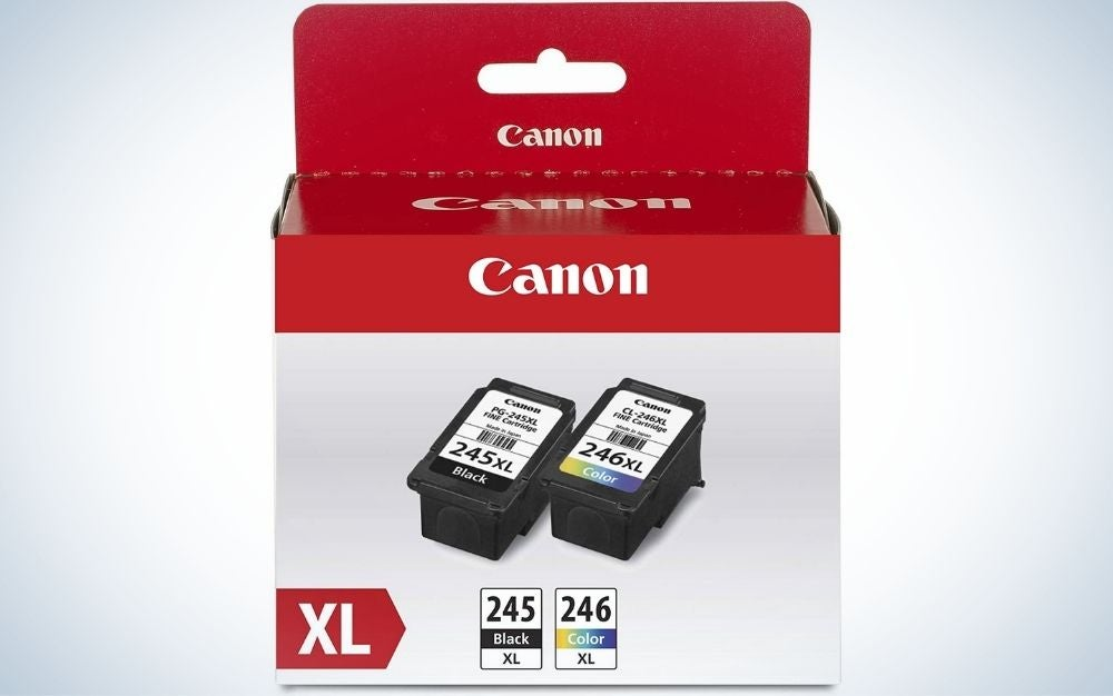 The Canon PG-245 XL/CL-246 XL is best printer cartridges overall.