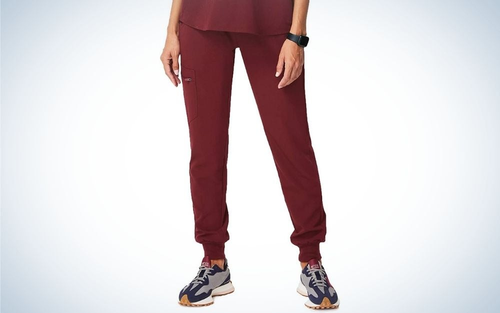 The FIGS Zamora Jogger Style Scrub Pants for Women are the best overall.