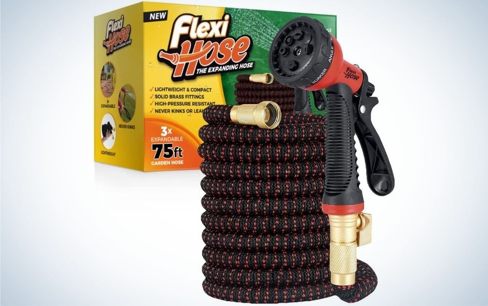 This Flexi Hose is the best expandable model.