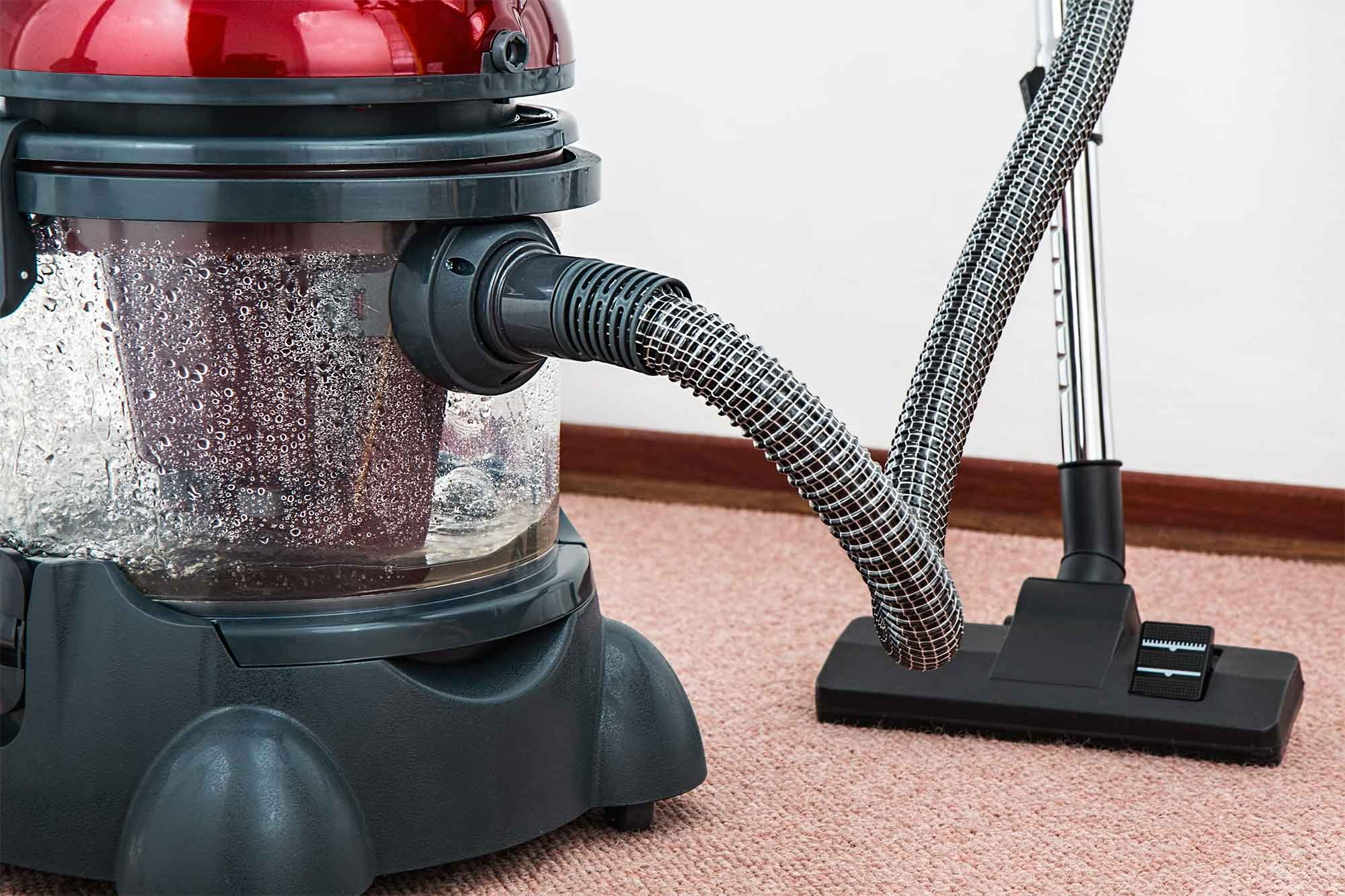 Heavy duty carpet cleaning system