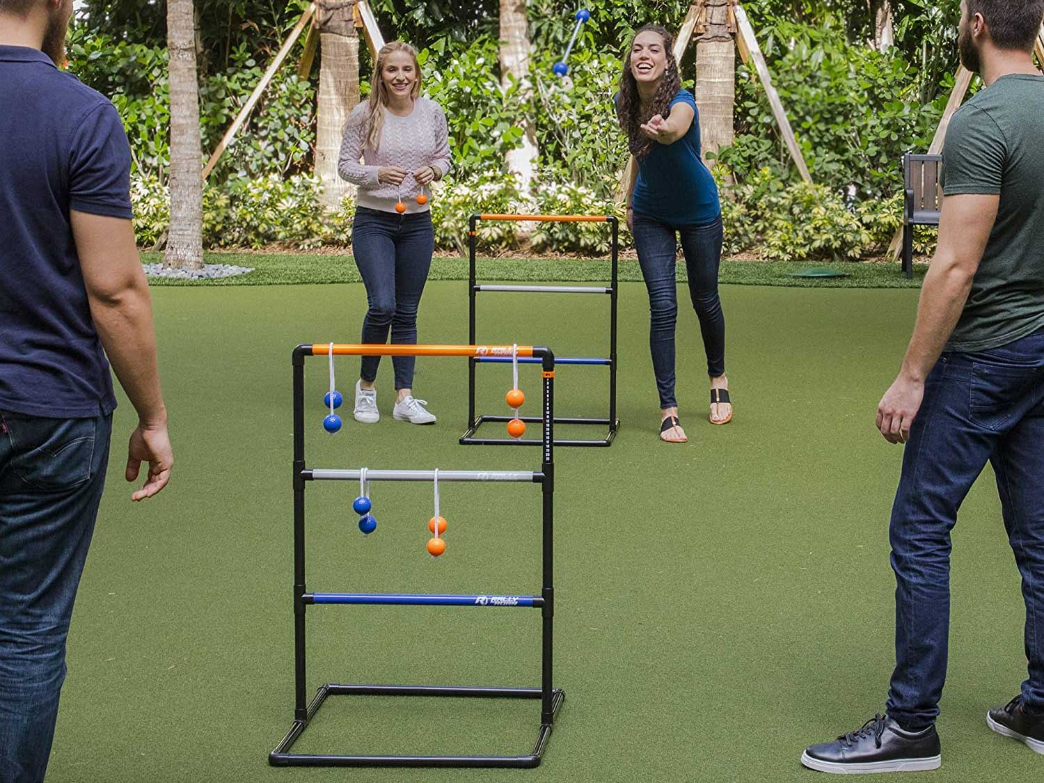 Playing Ladderball