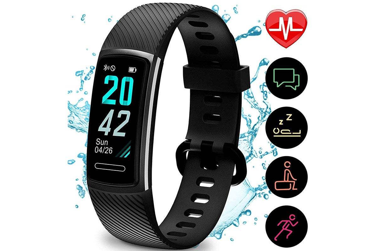 TEMINICE Exercise Watch with Heart Rate and Sleep Monitor