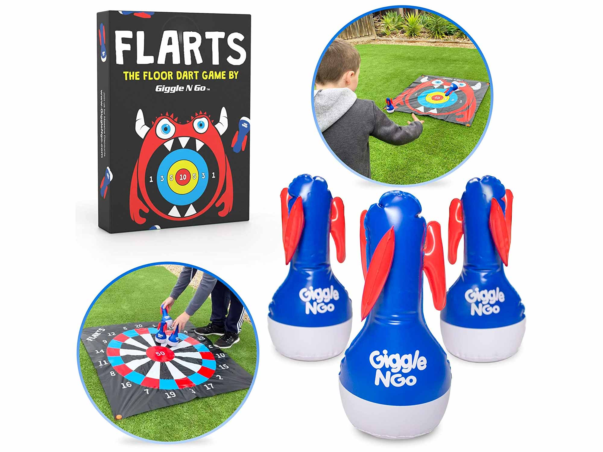 GIGGLE N GO Indoor Games or Outdoor Games for Family