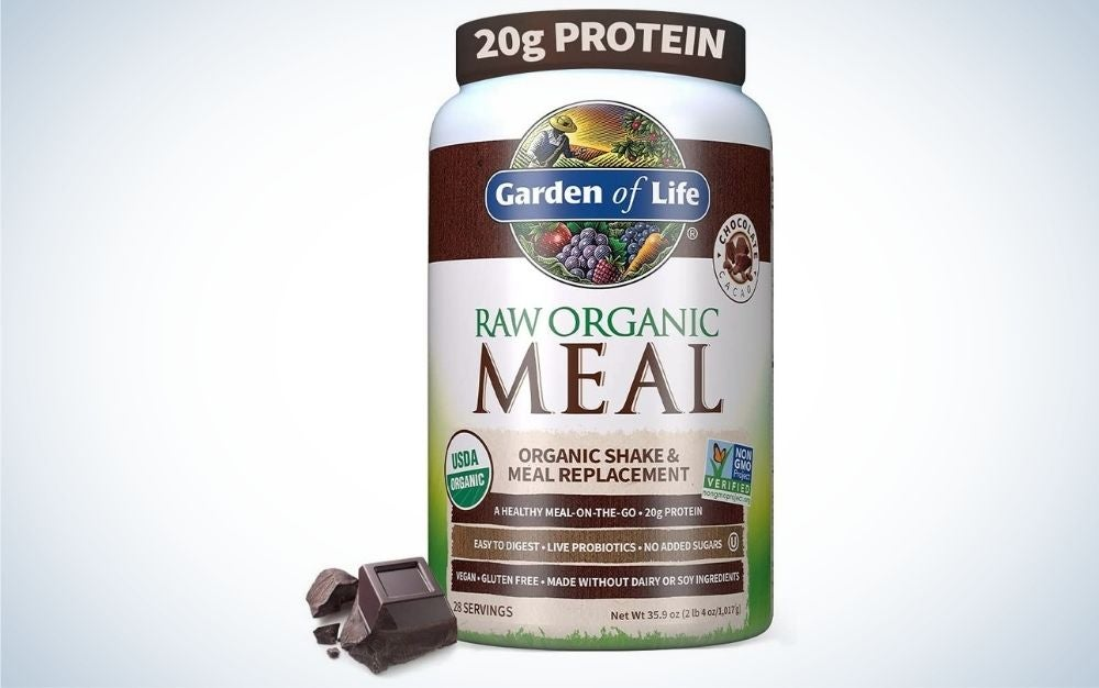 Garden of Life Raw Organic Meal is the best overall meal replacement shake.