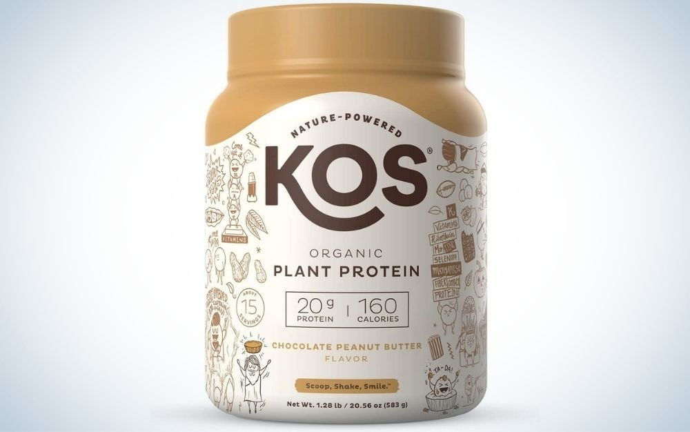 KOS Organic Plant Based Protein Powder is the best value meal replacement shake.