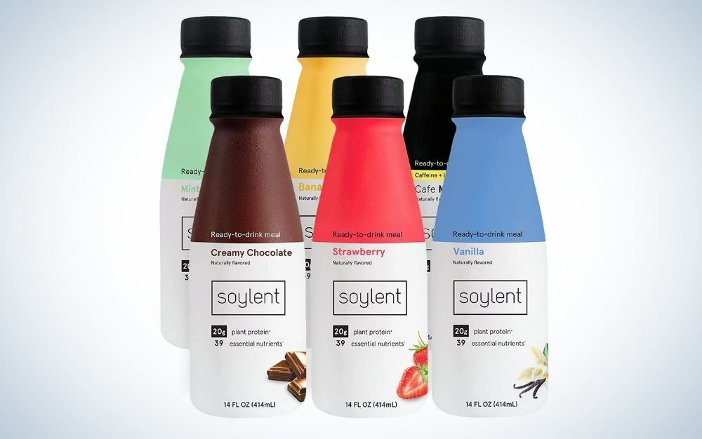 Soylent Meal Replacement Shake is the best plant-based.