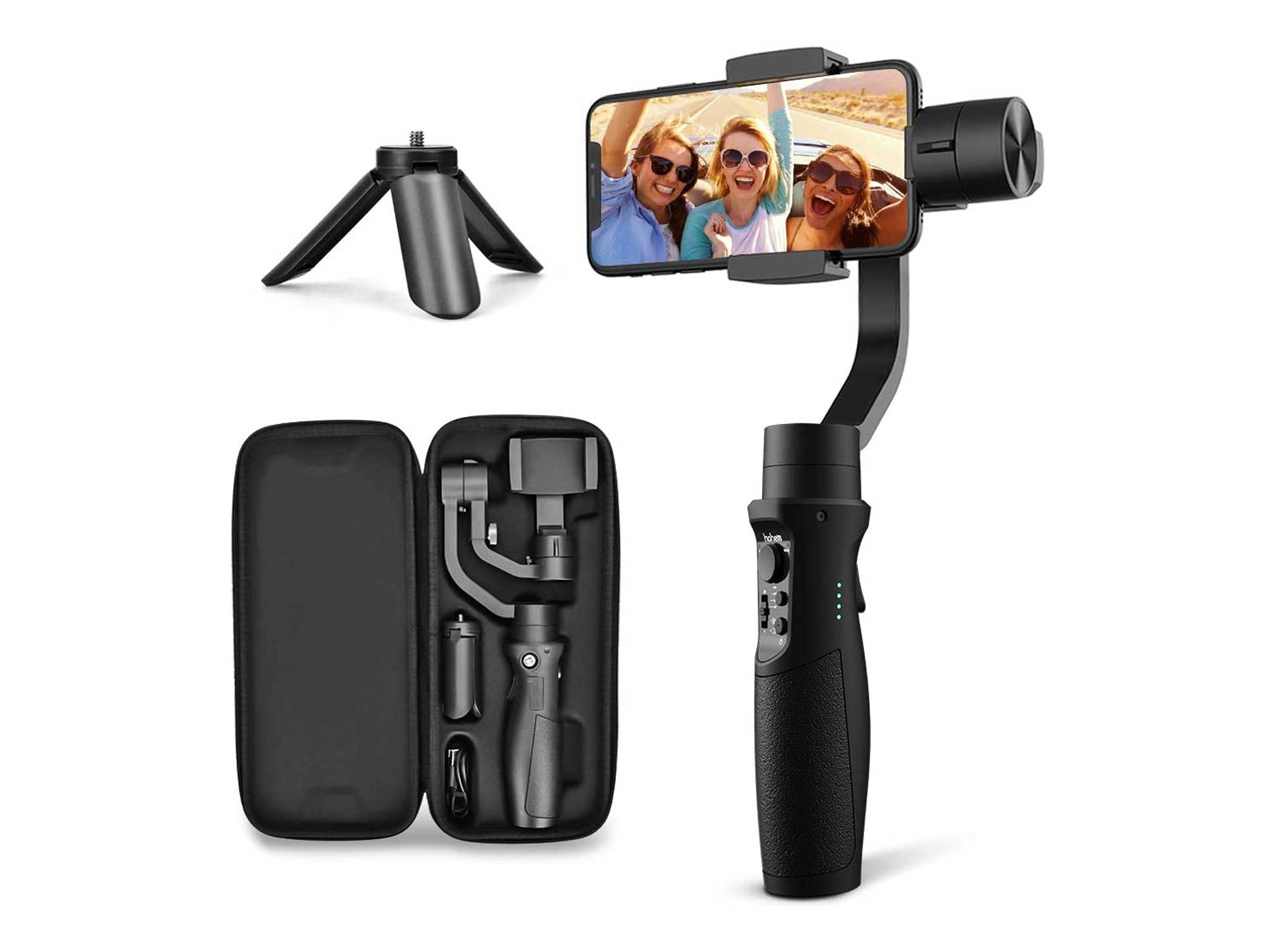 3-Axis Gimbal Stabilizer for iPhone X XR XS Smartphone