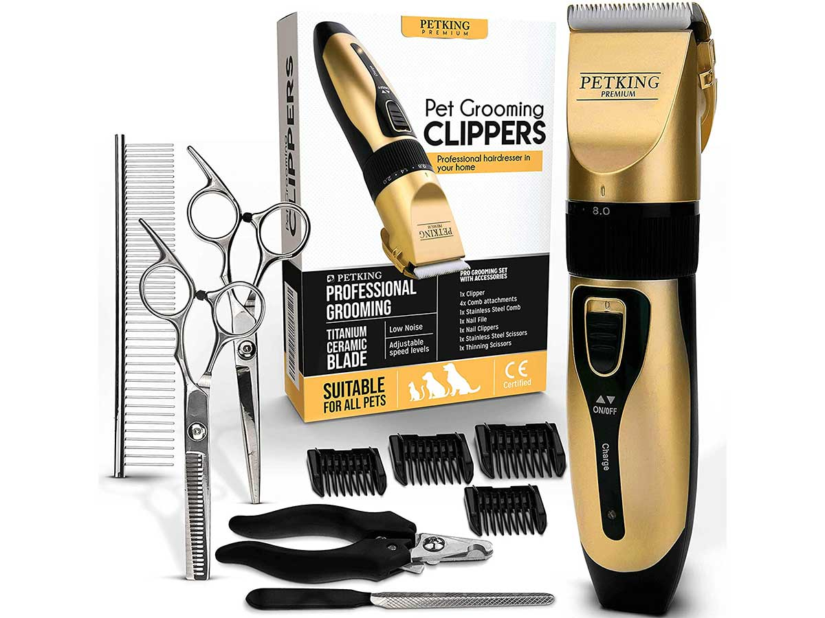 PETKING - Dog Grooming Clippers for Pets