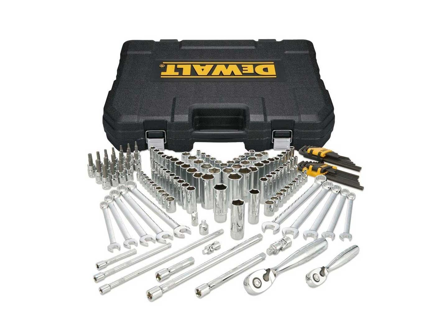 DEWALT Mechanics Tools Kit and Socket Set, 156-Piece