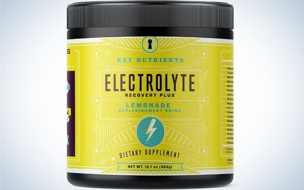 Key Nutrients Electrolyte Recovery Plus is the best value.