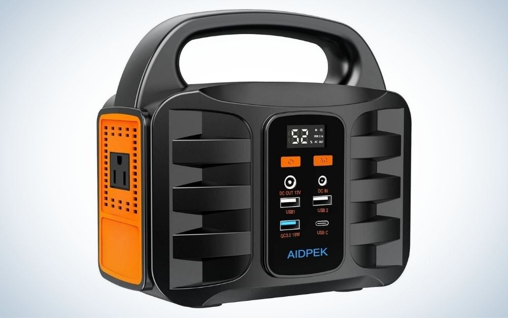 The AIDPEK 100W Portable Power Station is the best portable emergency power stations.