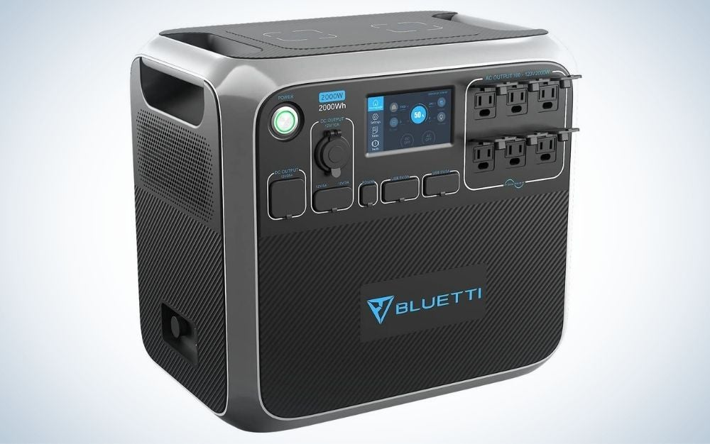 The Bluetti Portable Power Station is the best high output emergency power stations.
