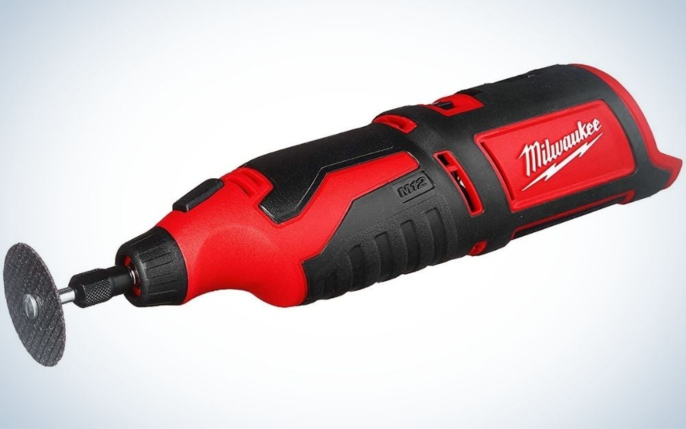 The Milwaukee 12V Cordless Rotary Tool is the best cordless.