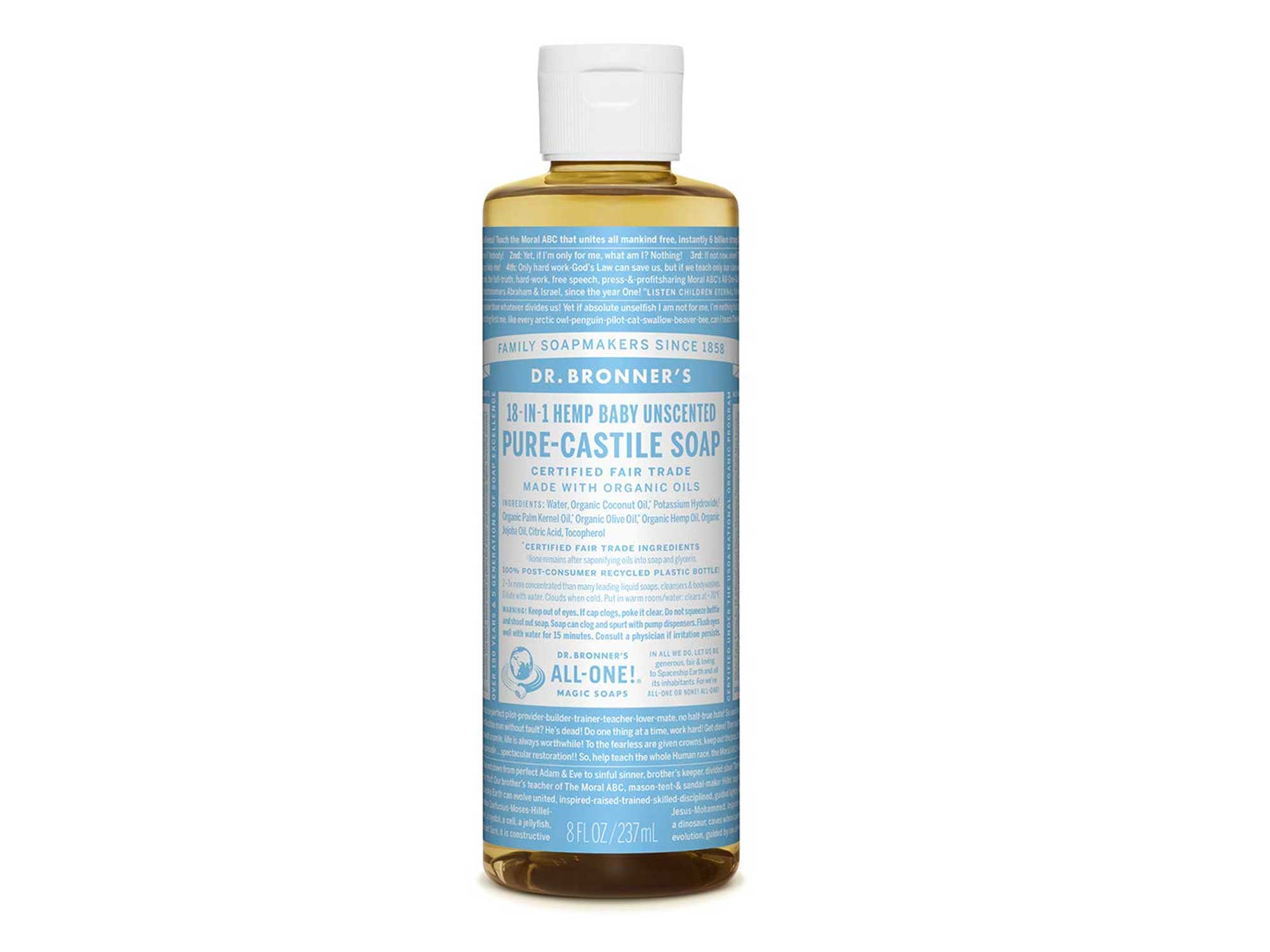 Dr. Bronner's - Pure-Castile Liquid Soap (Baby Unscented)