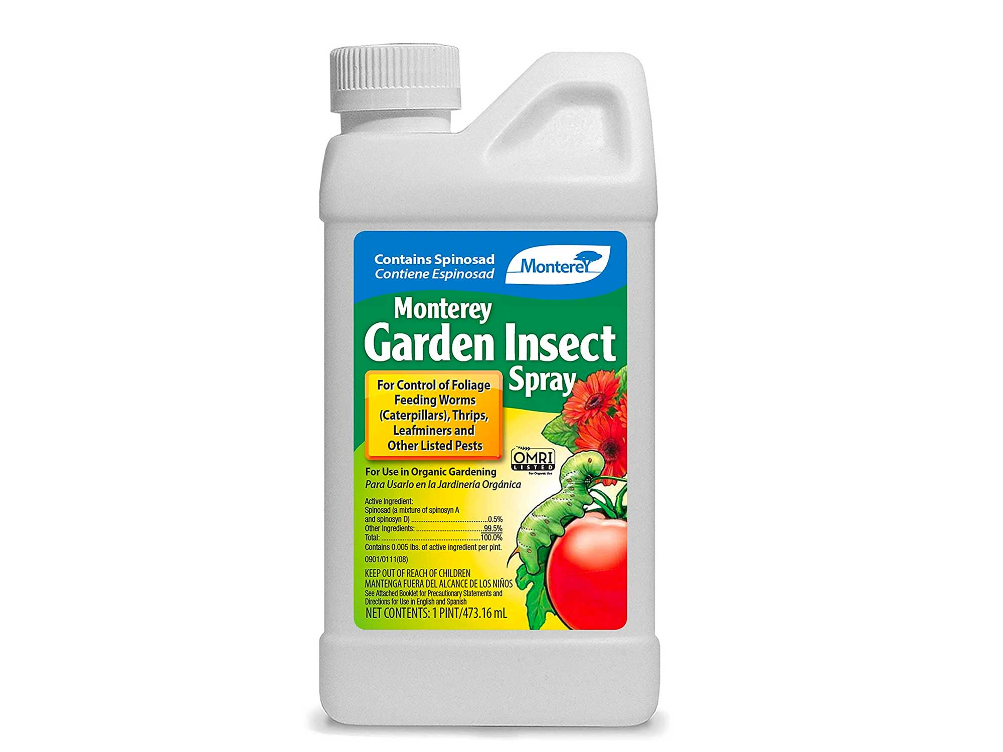 Monterey Garden Insect Spray, Insecticide & Pesticide with Spinosad Concentrate
