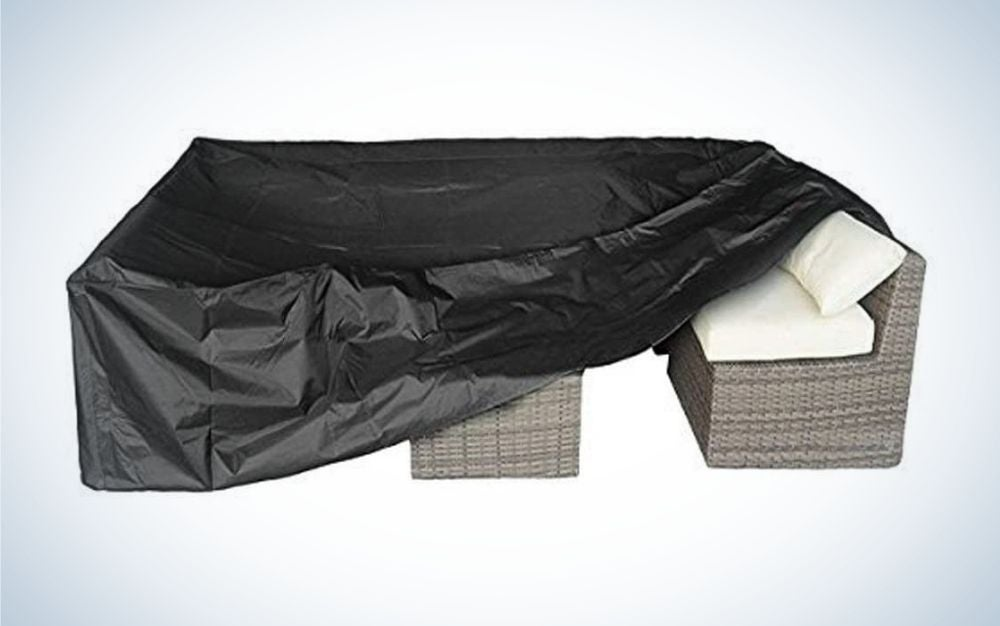 Patio Furniture Set Cover Outdoor Sectional Sofa Set is the best value.