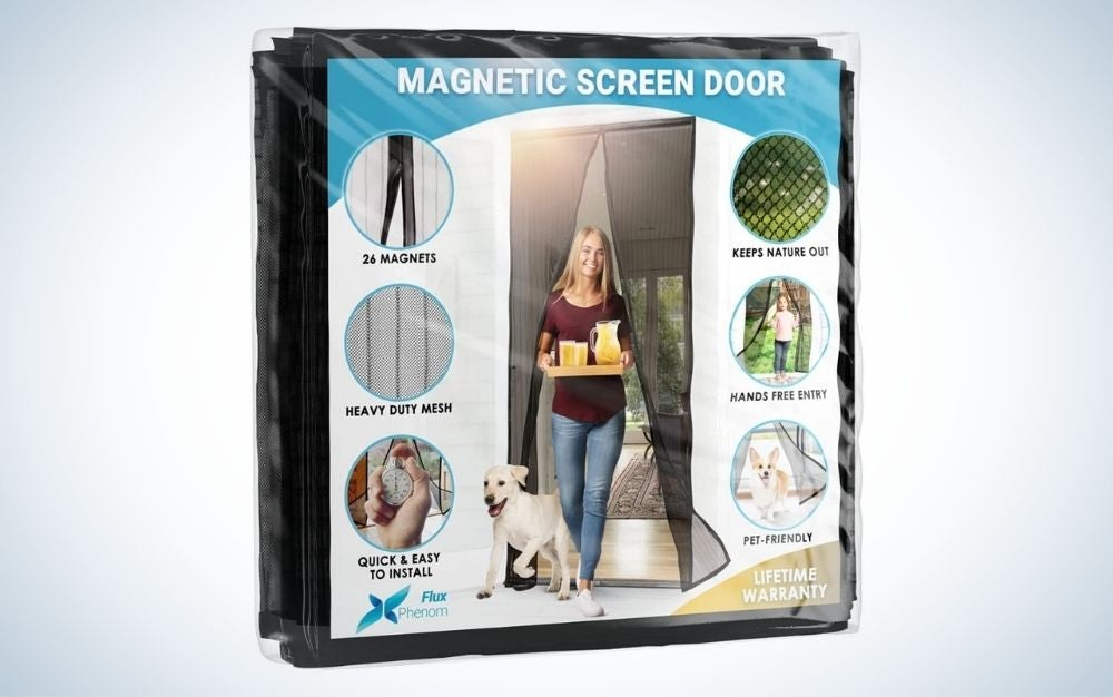 The Flux Phenom provides the best view of magnetic screen doors.