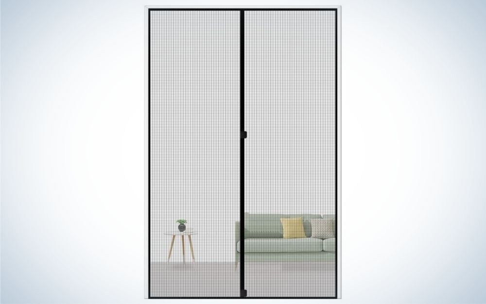The MAGZO Magnetic Screen Door is the best overall pick.