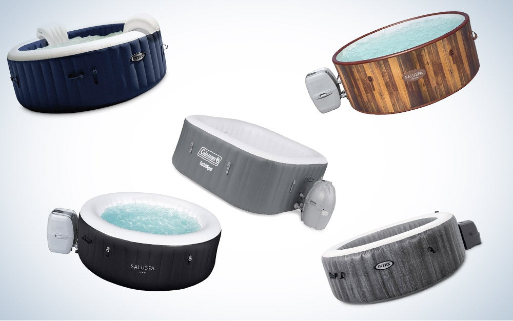 These are our picks for the best inflatable hot tubs on Amazon.