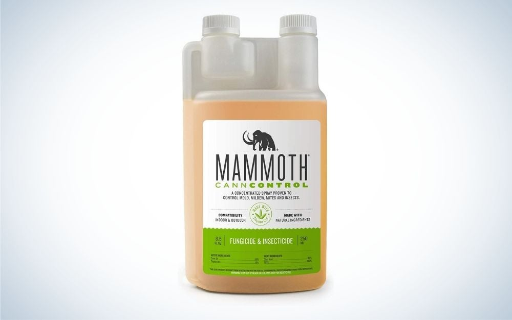 Mammoth CannControl Concentrated Insecticide Spray is among the best organic pesticides for multi-purpose.