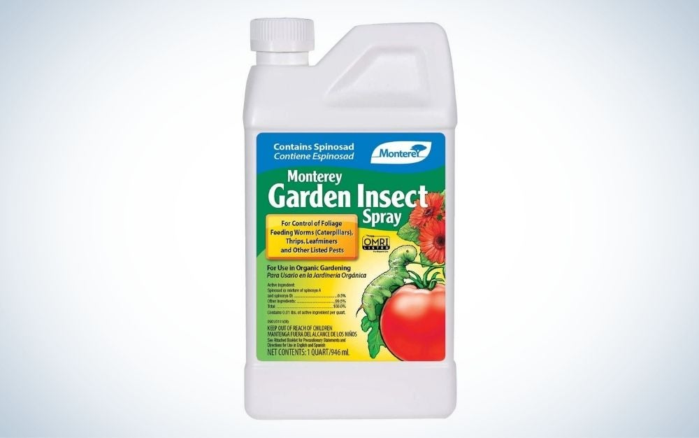 Monterey LG6135 Garden Insect Spray is the best overall organic pesticide.