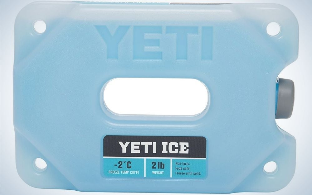 The YETI ICE Refreezable Reusable Cooler Ice Pack is the best overall.