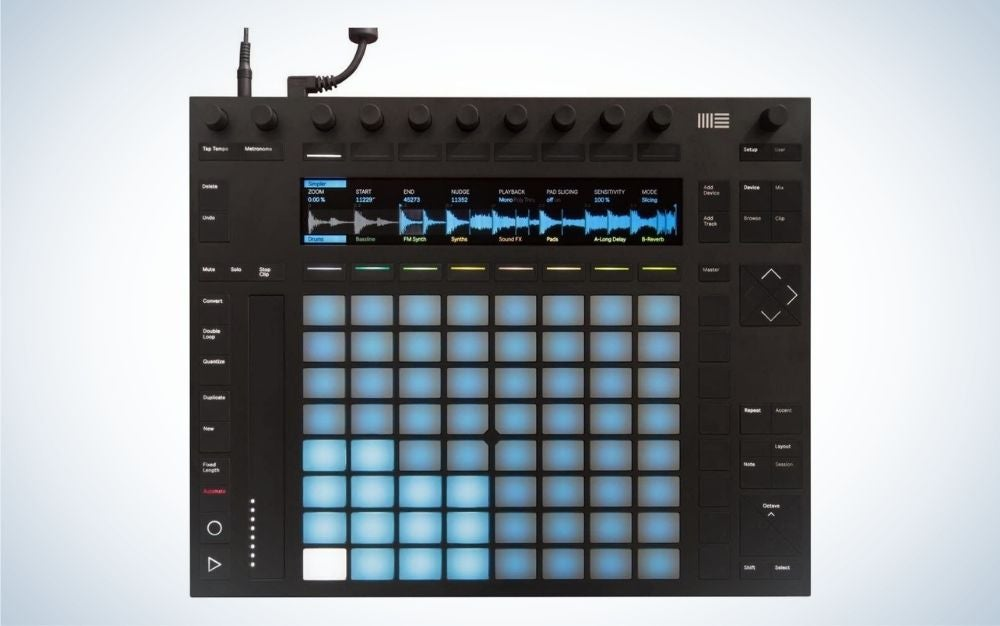 Ableton Push 2 Controller Instrument is the best experimental DJ controller.