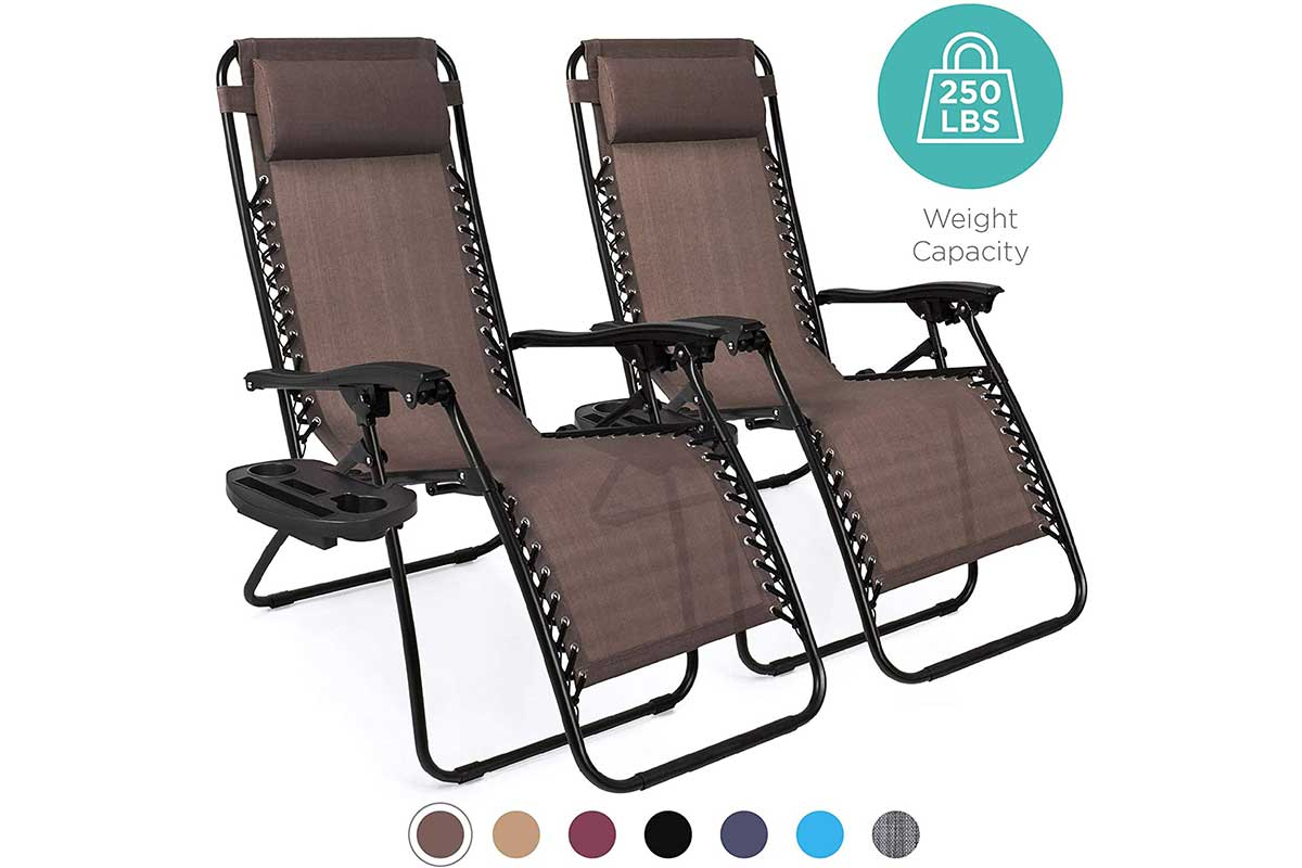Adjustable Zero Gravity Lounge Chair Recliners for Patio