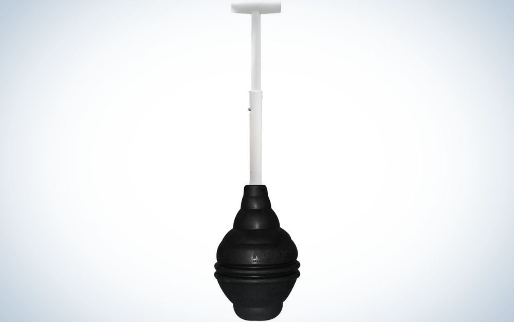 The Korky Telescoping Universal Plunger is the best telescoping plunger.