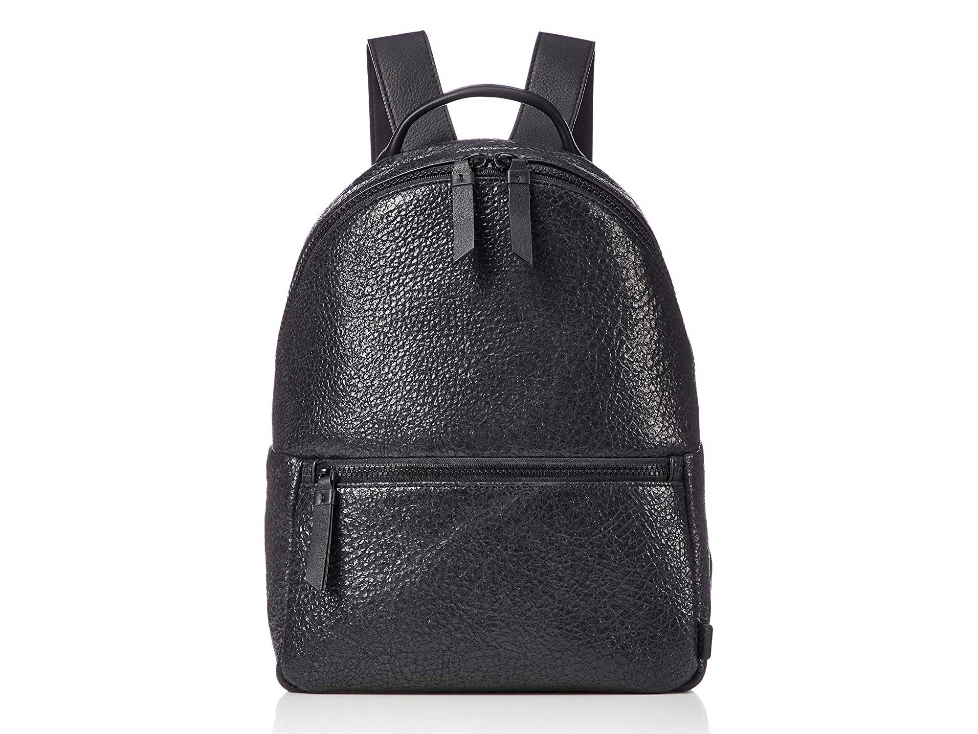 ECCO SP 3 Black Leather Backpack