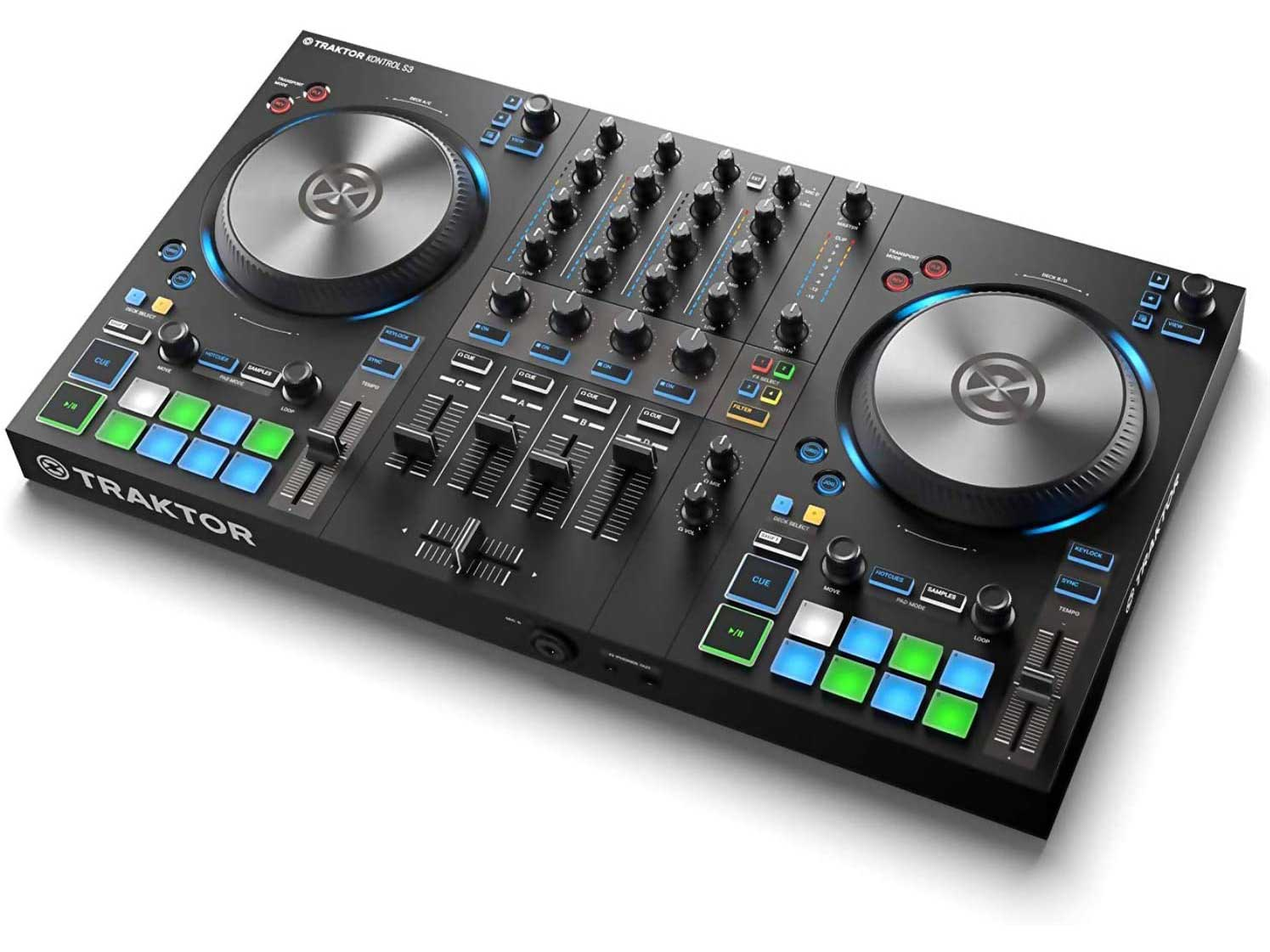 Native Instruments Traktor Kontrol S3 4-Channel, 4 DJ Controller