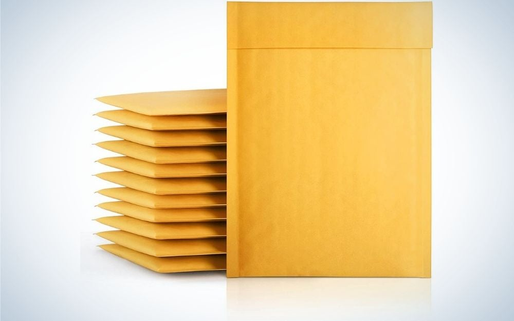 Fu Global Kraft Bubble Mailers are the best value.