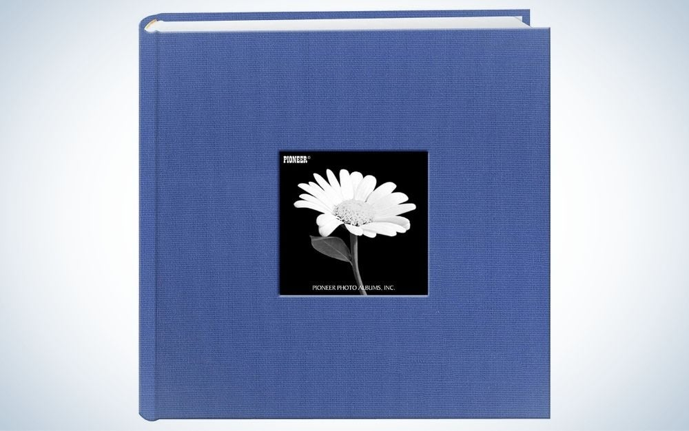 The Pioneer Photo Albums Fabric Frame Cover Photo Album is the best overall photo album.