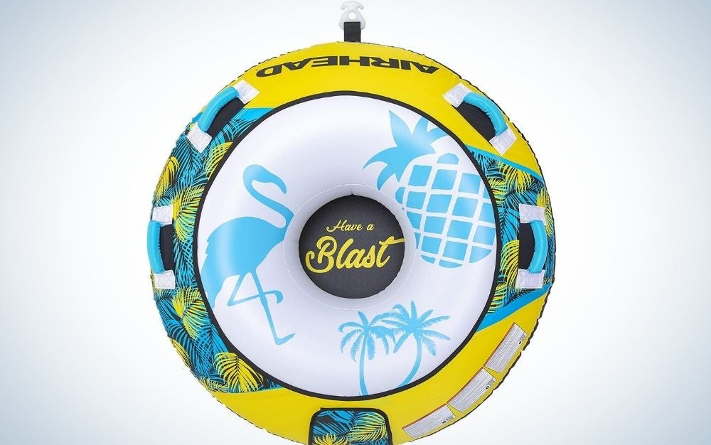 The Airhead Blast Towable is the best boat tube for value.