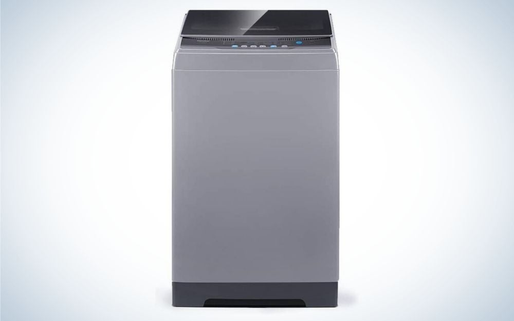 The Comfee 1.6 Cubic Foot Portable Washer is best overall.