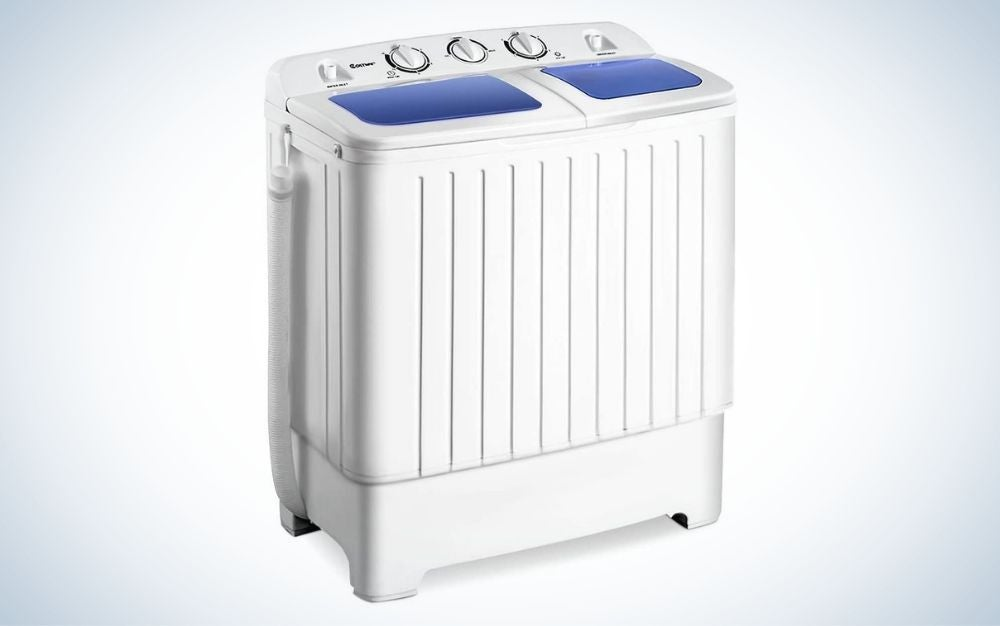 Giantex Portable Mini Compact Washer is best portable.