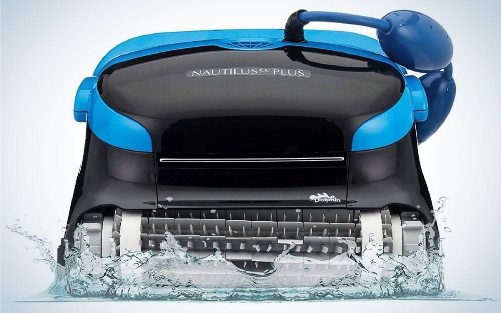 The Dolphin Nautilus CC Plus Robotic Pool Vacuum Cleaner is the best overall.