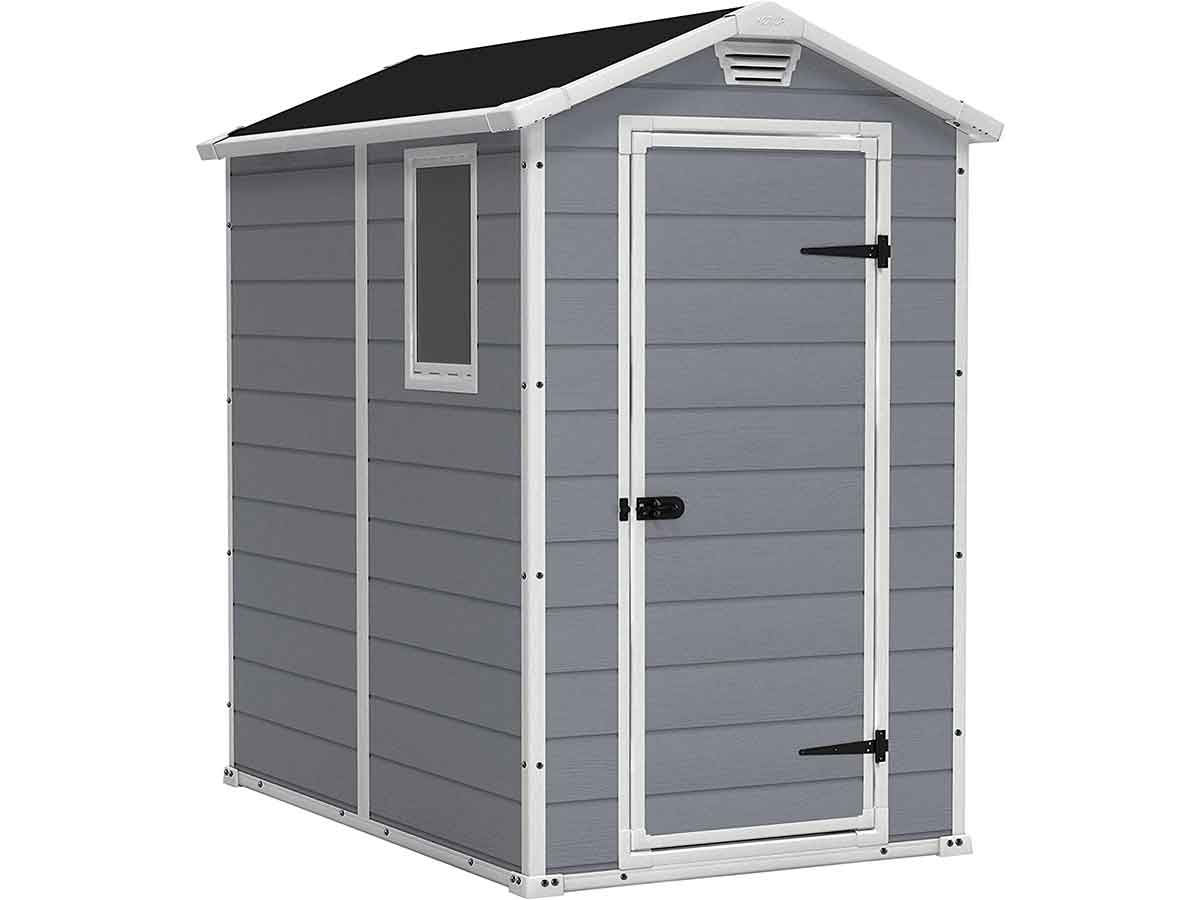 4x6 Resin Outdoor Storage Shed