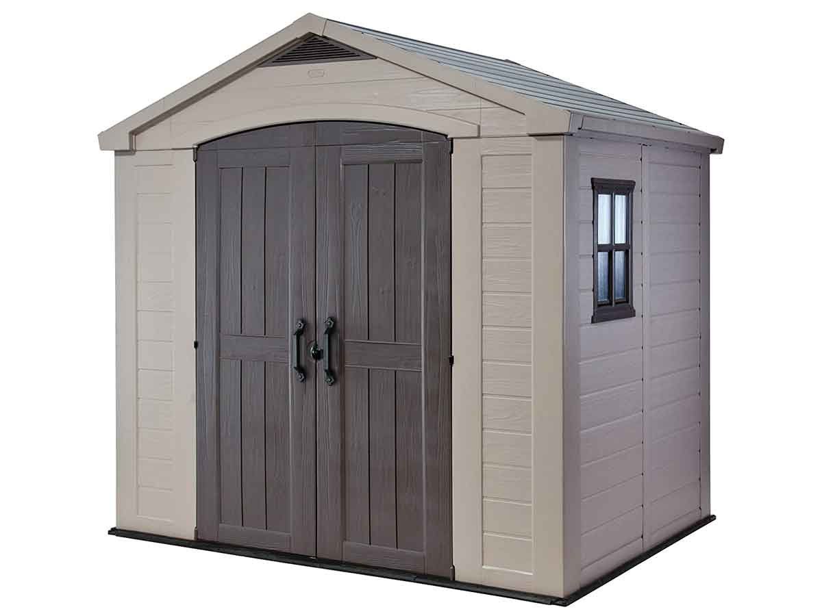 8x6 Large Resin Outdoor Shed