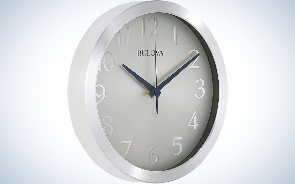 The Bulova Winston Wall Clock is the best overall.
