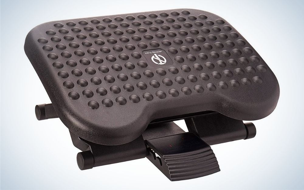 This Mind Reader foot rest rates as the best value.