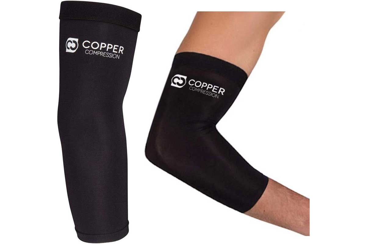 Copper Compression Recovery Elbow Sleeve - Guaranteed Highest Copper Content